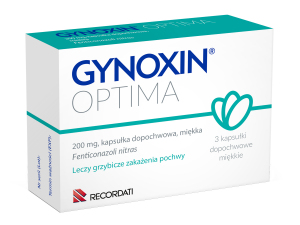 Gynoxin Optima 200mg - 3globulki