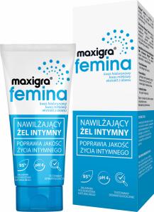 MAXIGRA FEMINA Nawilżający Żel intymny 75m